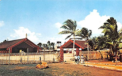 maori-village-polynesian-cultural-center-tahiti-postcard