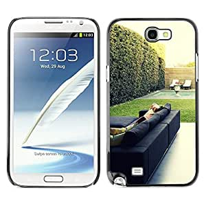 Hot Style Cell Phone PC Hard Case Cover // M00103099 architecture room chairs photos // Samsung Galaxy Note 2 II N7100