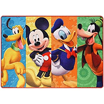 Amazon Com Disney Mickey Mouse Clubhouse Toys Rug Play
