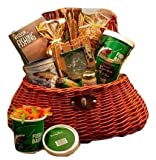 Reel It in Gourmet Fishing Creel Gift Basket