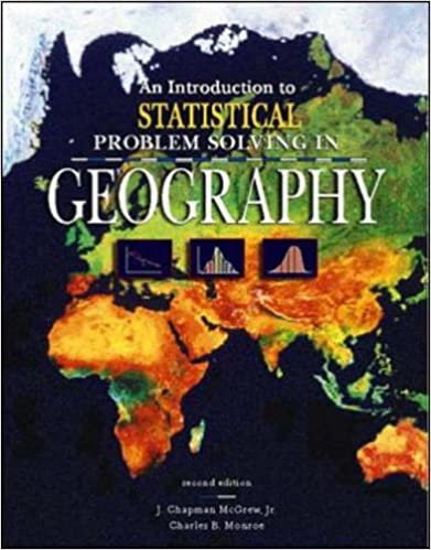 Book An Introduction to Statistical Problem Solving in Geography