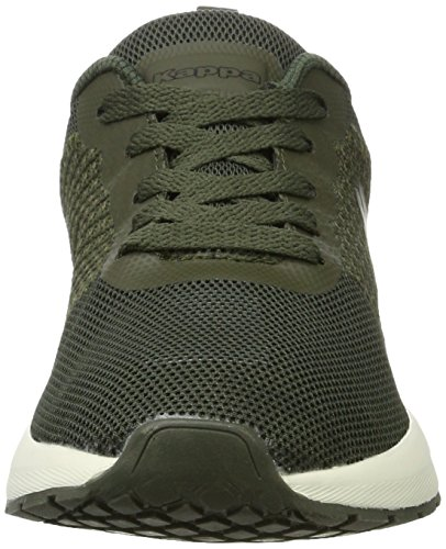 Kappa Fence, Zapatillas Unisex Adulto Verde (3111 Army/black)