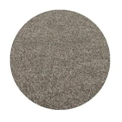 9' Round - STONE PEBBLE - ECONOMY INDOOR / OUTDOOR CARPET Patio & Pool Area Rugs |Light Weight INDOOR / OUTDOOR Rug - EASY Maintenance - Just Hose Off & Dry! - 10 Colors to Choose From