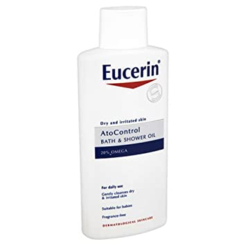 eucerin shower oil