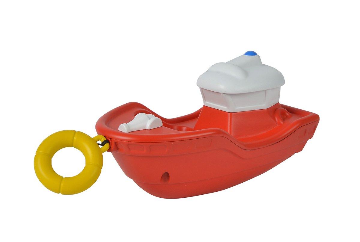 Simba 109252134 - Feuerwehrmann Sam Aufzieh-Boot Titan