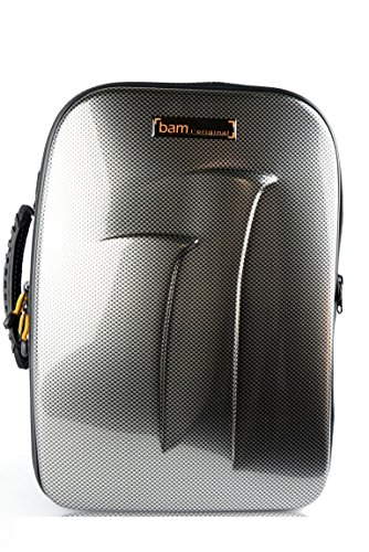 Bam New Trekking Double Clarinet Case Bb & A - Silver Carbon - TREK3028S (New Clarinet)