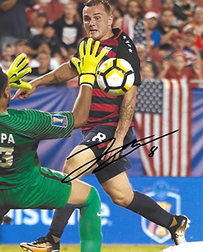 Jordan Morris, USA, United States National team, Signed, Autographed, 8X10 Photo, a Coa with the Proof Photo of Jordan Signing Will Be Included