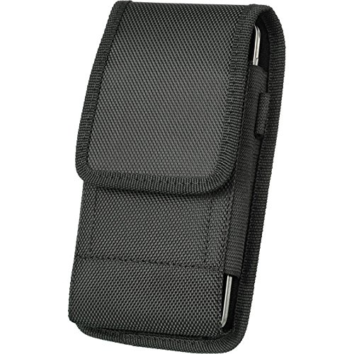For Samsung Galaxy J3 Vertical Phone Holster Pouch with Belt Clip Loop by JNSupplier
