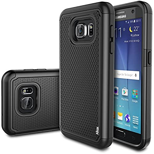 Galaxy S7 Edge Case, S7 Edge Case, Alkax Slim Fit Dual Layer Rugged Defender Armor Series Case Ultimate protection Sales
