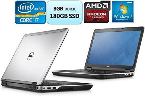 Dell Latitude E6440 14 Inch HD Business Laptop i7-4610M 8GB RAM 180GB Solid State Drive SSD AMD Radeon HD 8690M Graphics 2GB GDDR5 Win 7 Pro Webcam DVDRW (Dell 6440 I7)