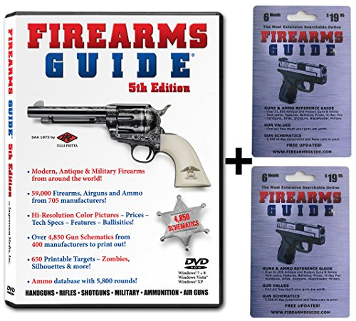 Firearms Guide Combo - DVD-Rom Edition + ONLINE Edition