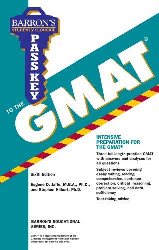 Pass Key to the GMAT (Barron's Pass Key to the GMAT)