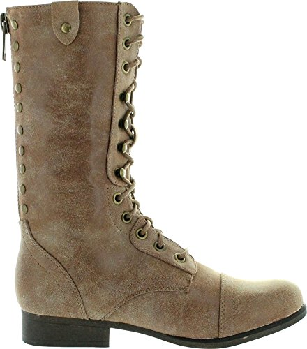Madden Girl Women's Galeriaa Combat Boot