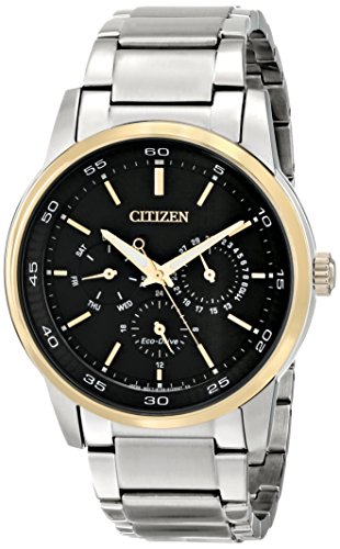 Eco Two Tone Bracelet Drive (Citizen Men's BU2014-56E Eco-Drive Two-Tone Bracelet Watch)