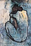 Pablo Picasso Blue Nude Art Print Poster - 24x36 Poster Print by Pablo Picasso, 24x37 Poster Print by Pablo Picasso, 24x37