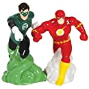 """WL SS-WL-25542 Green Lantern and the Flash Action Salt & Pepper Shakers, 4"""""""