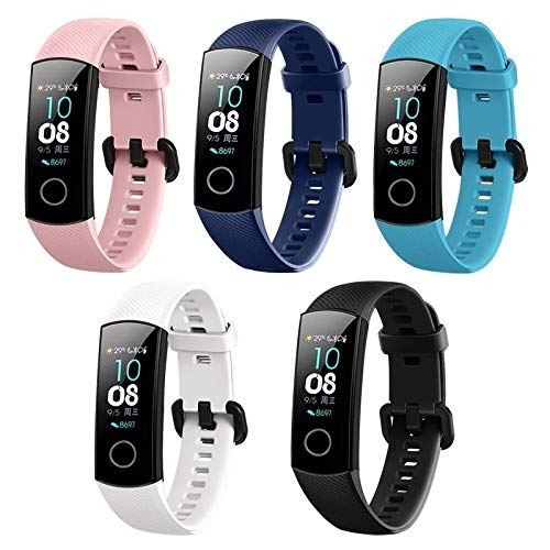 Amazon.com: Tabcover for Huawei Honor Band 4 Band,(5 Colors ...