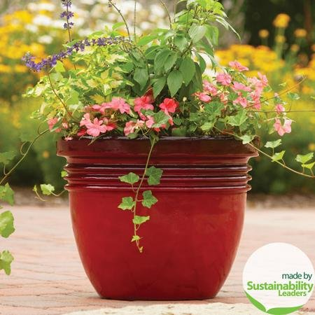 Better Homes and Gardens* Bombay Decorative Planter, Red Sedona 20 In. (20 Inches)