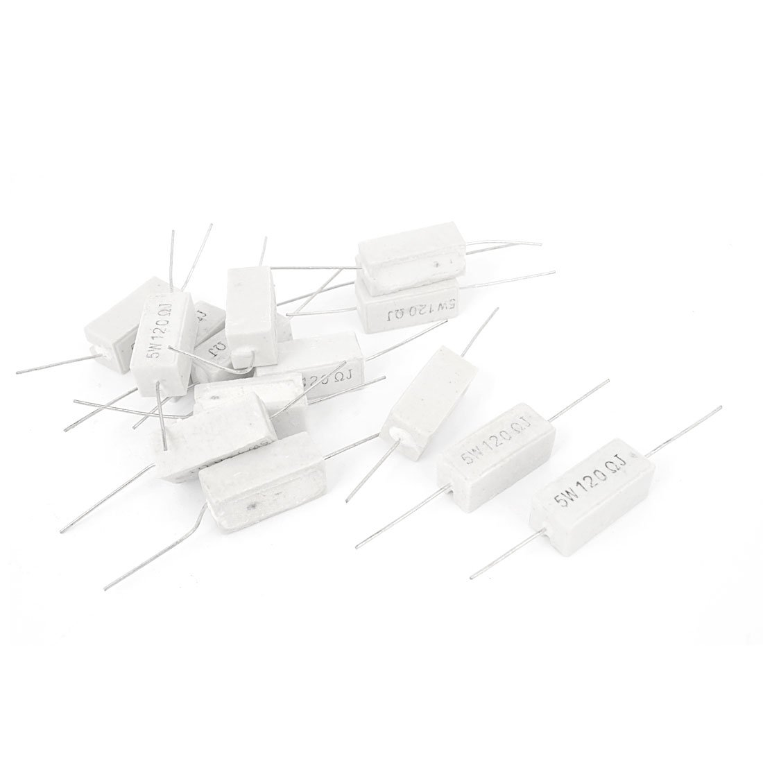 Axial Lead 2W 1/% Tolerance Metal Film Resistors sourcing map 30Pcs 0.47 Ohm Resistor 5 Bands for DIY Electronic Projects and Experiments