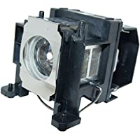 Kingoo Excellent Projector Lamp For EPSON H268C H268F H269A H269B H269C H270A H270B H270C H271A H271B H271C PowerLite 1716 Replacement projector Lamp Bulb with Housing
