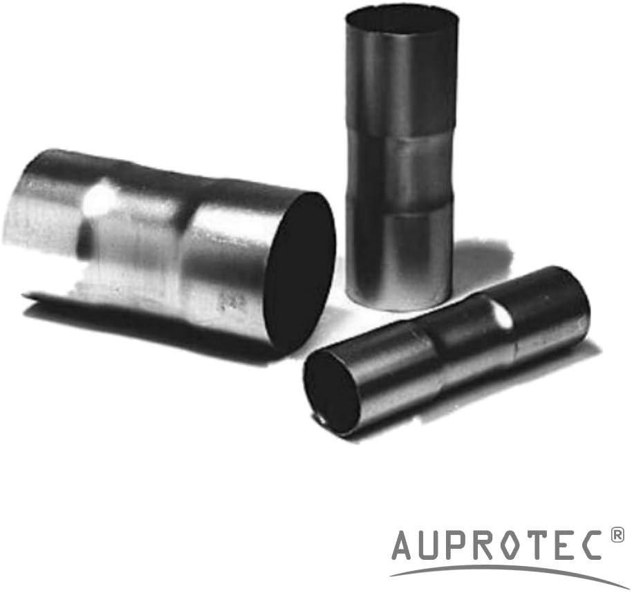 Universal Rohrverbinder Ø 50 Mm Doppelmuffe Beidseitig Aufgeweitet Auspuffrohr Abgasrohr Rohr Abgasanlage Pkw Lkw Auto