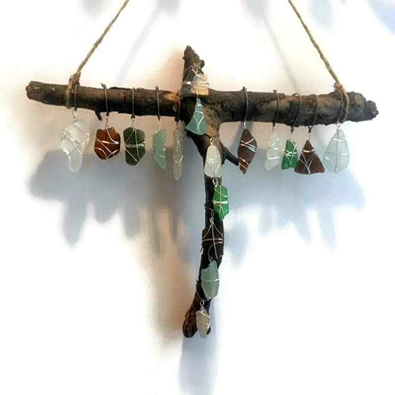 Libra Driftwood Sun Catcher
