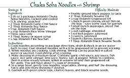 Roland Soba Noodles, Chuka, 6 Ounce (Pack of 8)