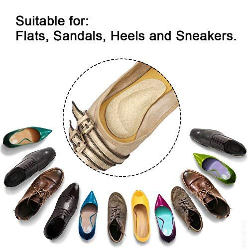 Dr. Foot\'s Arch Support Insoles for Flat Feet, Plantar Fasciitis, Relieve Pain for Women and Men - 2pairs