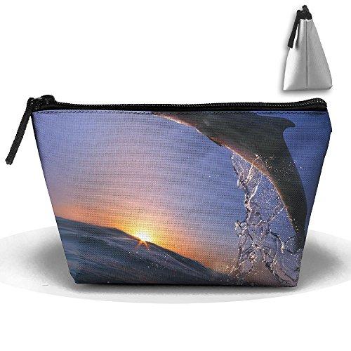 - WQWSVX Beautiful Dolphin Fashion Travel Bag Trapezoid