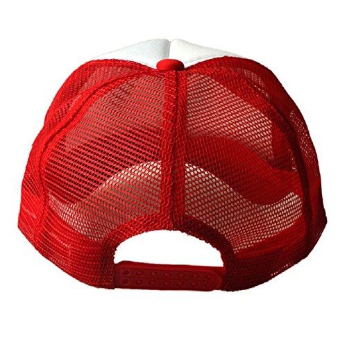 Sannysis Mesh Baseball Cap Trucker Hat Blank Curved Visor Hat Adjustable