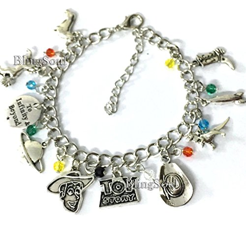 BlingSoul Story Toy Charm Bracelet Jewelry Merchandise for -