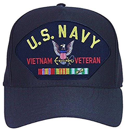 U.S. Navy Vietnam Veteran Ribbon Ball Cap Hat