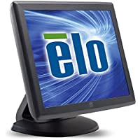 Elo 1000 Series 1515L LCD Desktop Touchscreen Montior - 15-Inch - 5-wire Resistive - 1024 x 768-4:3 - Dark Gray