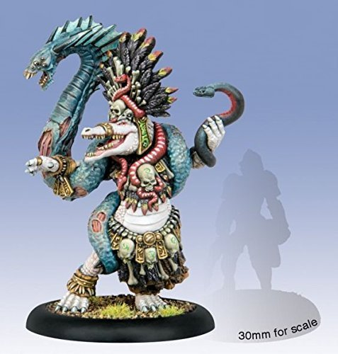 PIP75049 Minions: Jaga-Jaga, The Death Charmer Gatorman Warlock by Privateer Press