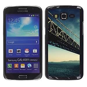 Exotic-Star ( Architecture San Francisco Bridge ) Fundas Cover Cubre Hard Case Cover para Samsung Galaxy Grand 2 II / SM-G7102 / SM-G7105