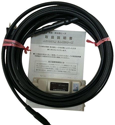 日本電熱 雨樋排水路ヒーター EA-U06P1 6m B00QUHMROE