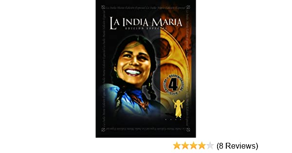 Amazon.com: La India Maria: Special Edition, 4 Pack Vol. 1: La India Maria: Movies & TV