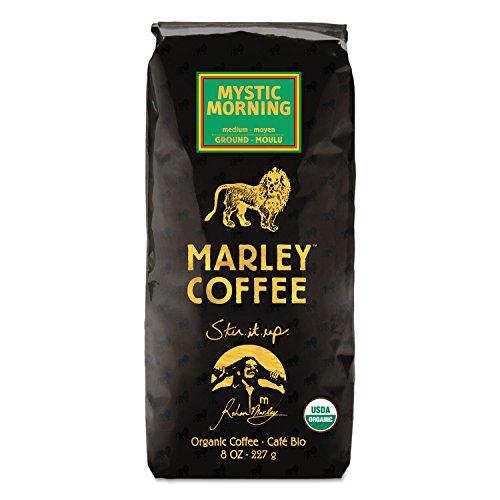 Marley Coffee 02905 Coffee Bulk Mystic Morning 8 oz Bag