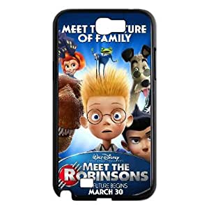 Samsung Galaxy Note 2 N7100 Phone Case Black Meet the Robinsons MG673337