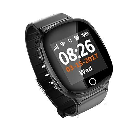 Amazon.com: OJBDK Watch Smart Watch GPS + LBS + WiFi ...
