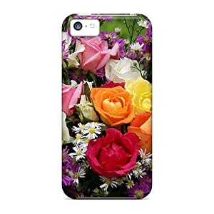 meilz aiaiSlim Fit Protector Shock Absorbent Bumper Summer Bouquet Cases For iphone 5/5smeilz aiai