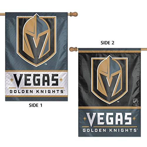 WinCraft Vegas Golden Knights Double Sided Banner Flag