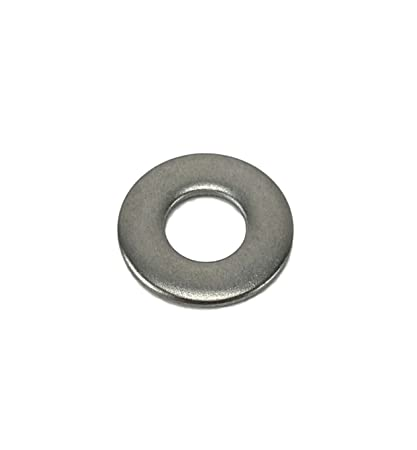 Amazon.com: Stainless Flat Washers 1/4 Inch, 304 Stainless Steel ...