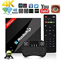 Aoxun 4G+32G TV Box 4K Android 6.0 Upgraded Version H96 Max Intelligent set-top box RK3399 Six Core UHD 64 Bits with wifi smart set-top boxes Bluetooth 4.0 and OTA Function Supported