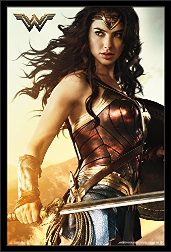 Trends International Wall Poster Wonder Woman Shield, 22.375 x 34