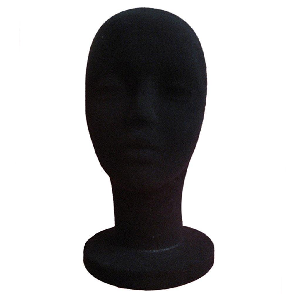 Espuma maniquí de la cabeza, bulary de espuma de poliestireno maniquí Cabeza Hembra maniquí modelo peluca pelo sombrero pantalla