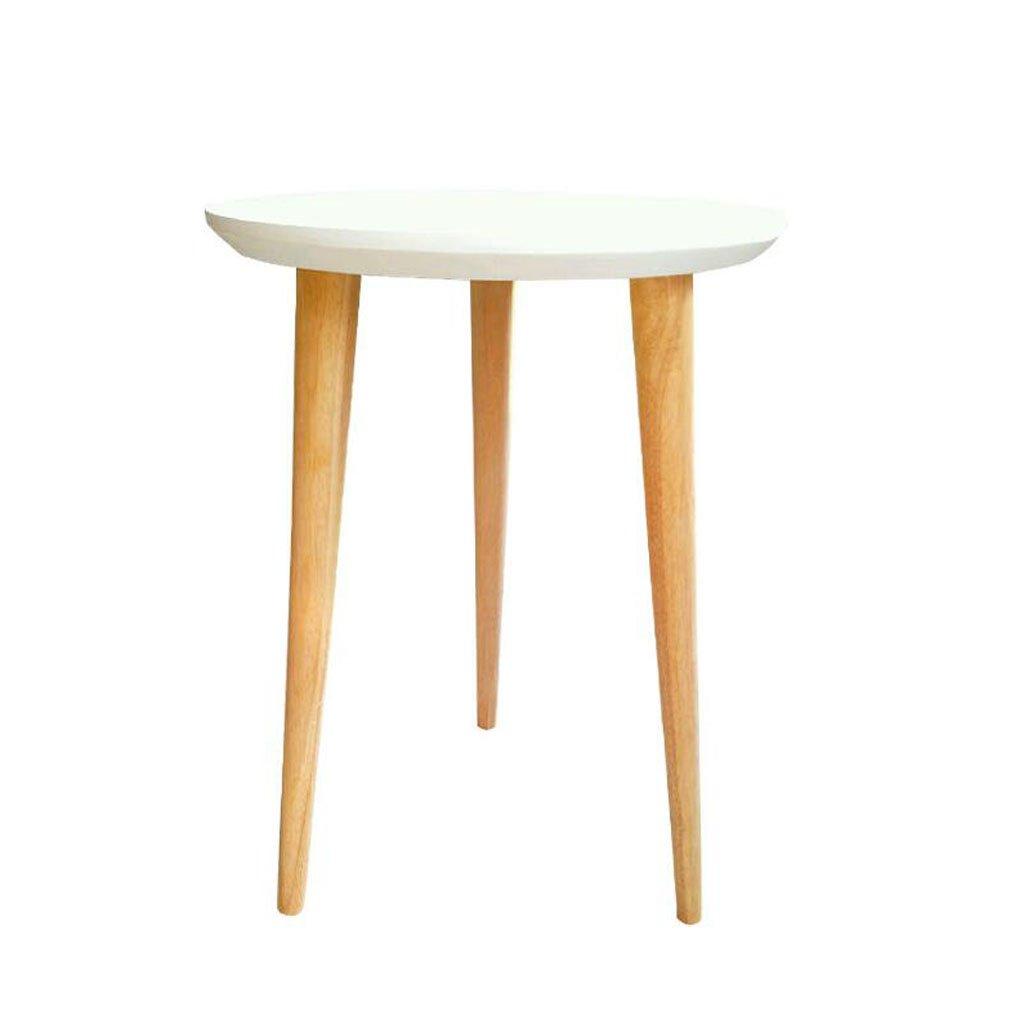 DYFYMXStand per Piante Tavolo rossoondo Moderno Semplice in Legno massello, tavolino da Salotto con tavolino da caffè Cremagliera per fioriera