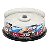 Philips DVD+Rw 4.7gb 4x, Fl 25 Pack