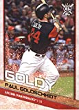 #5: 2018 Topps Big League Players Weekend Image Variations #111 Paul Goldschmidt Arizona Diamondbacks Baseball Card