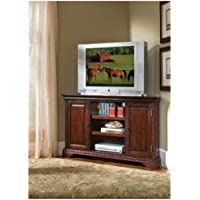 Home Styles 5537-07 Lafayette Corner Credenza, Cherry Finish